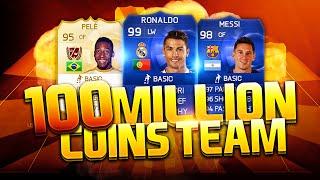 FIFA 15 - 100 MILLION COINS TEAM