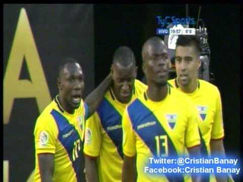 Ecuador 4 Haiti 0 (La Red Ecuador) Copa America Centenario 2016