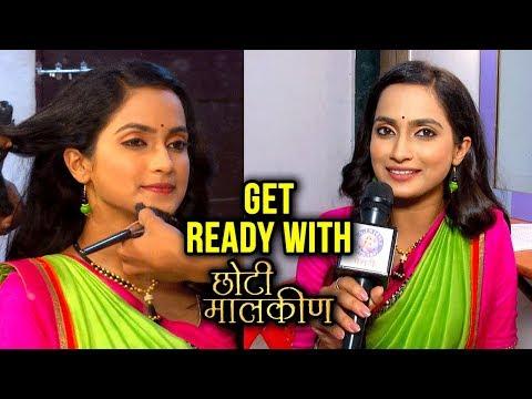 Get Ready with Aetasha Sansgiri   Chhoti Malkin   Marathi Serial   Star Pravah