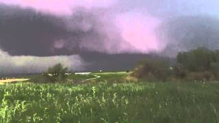 WALLCLOUD LINCOLN NEBRASKA 5/11/2014 - HAM RADIO
