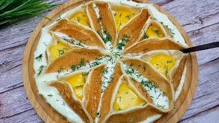 Вы БУДЕТЕ готовить их снова и СНОВА! БЛИНЧИКИ с курицей, сыром и яйцом
