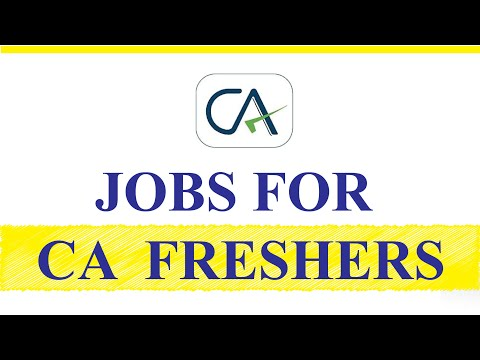 Finance Jobs | 15 Career Options for Chartered Accountants | Where are CA Jobs