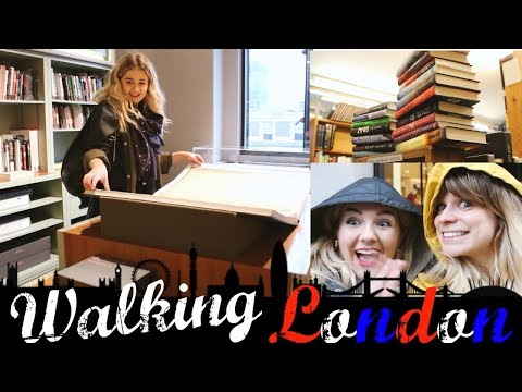 Booklover's Tour of London | Kings Cross - Bloomsbury - Charing Cross Road | Walks in London #6