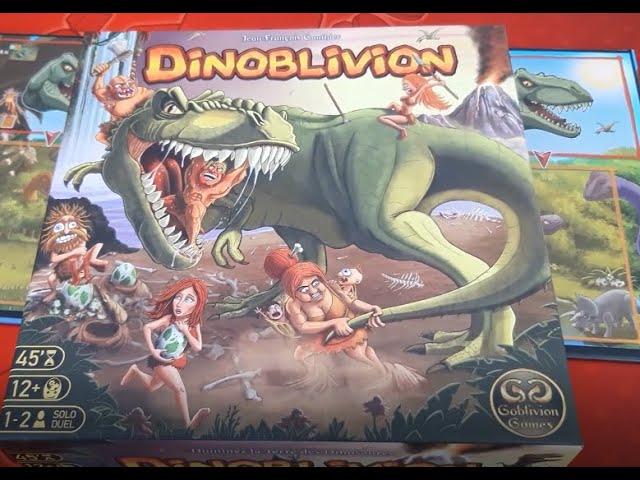 Dinoblivion  - Partie Solo - Mode Guerrier