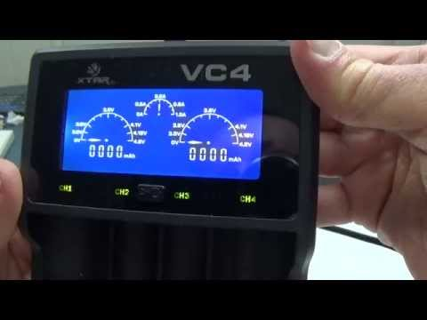 XTAR VC4 Lithium/NiMH Battery Charger Review