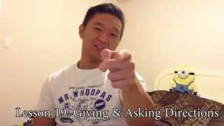 Giving and Asking Directions - 2 Minutes A Day - Chinese Lesson 19