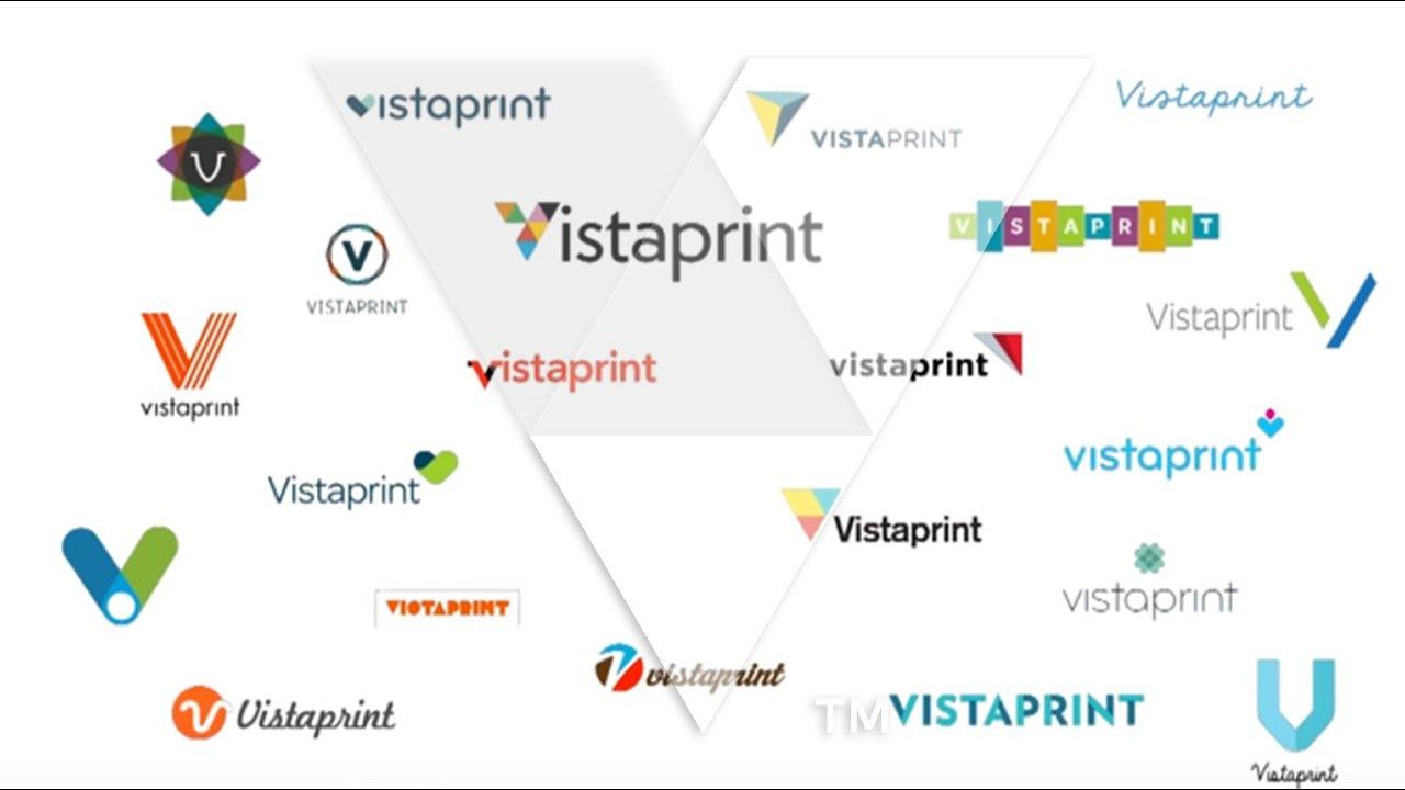 Vistaprint Logo Creation - YouTube