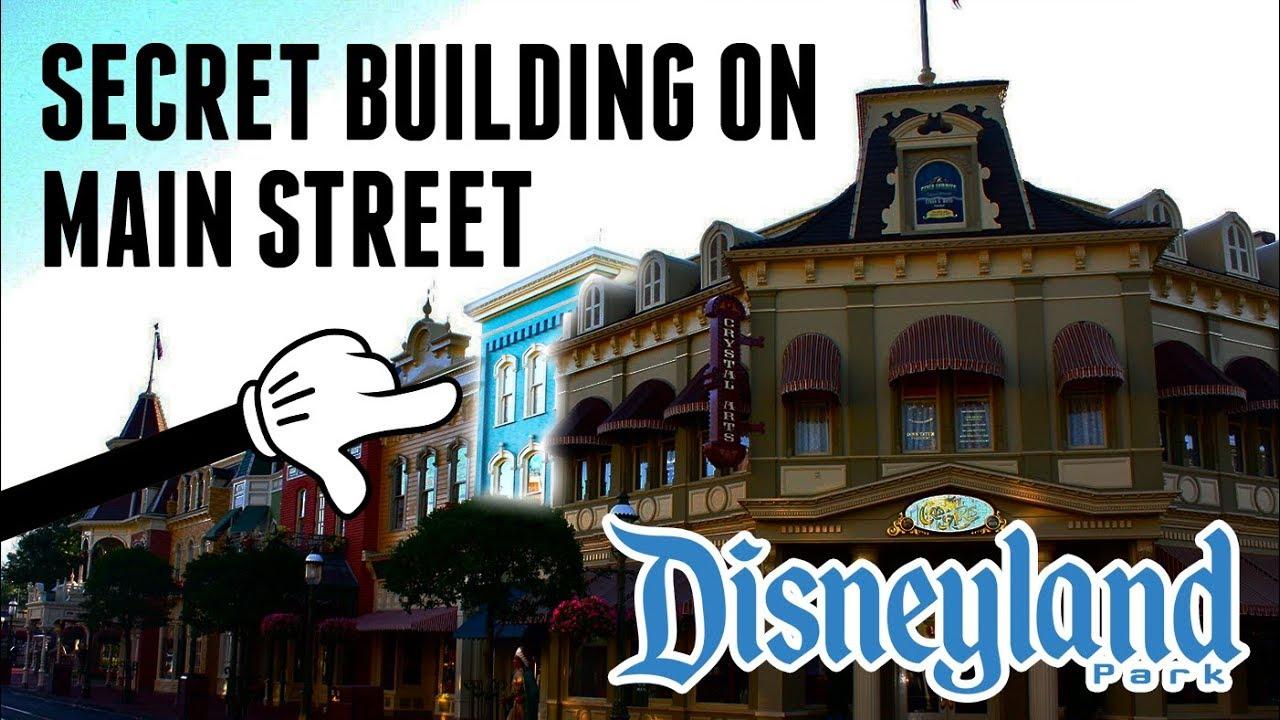 Secret Disneyland Main Street Building! DIStory Minnie Ep  2! - Disneyland  & Disney Park Secrets