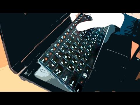 Как включить подсветку клавиатуры на ноутбуках Lenovo. - YouTube