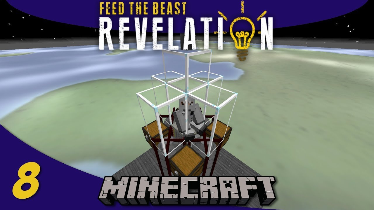 Going to Space with Advanced Rocketry: Series Finale: 1 12 Modded Minecraft  FTB Revelation SMP : E08