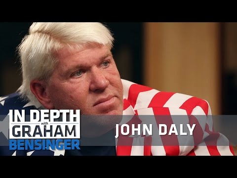 John Daly on staying sober