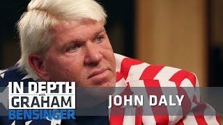 John Daly on staying sober
