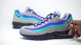 best sneakers ef9e4 c2acb FIRST LOOK  AIR MAX 95 AQUA   SHIEKH