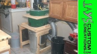 Modified Harbor Freight Dust Collector Final Test - 078