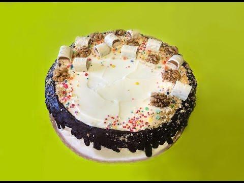 Рецепт торта с твиксом