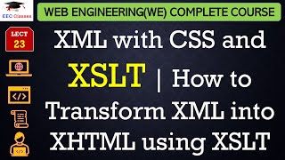 xml with css and xslt   how to transform xml into xhtml using xslt in hindi