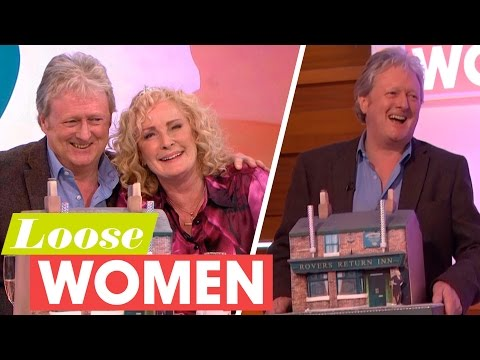 Corrie's Beverley Callard and Charles Lawson Reunited! | Loose Women
