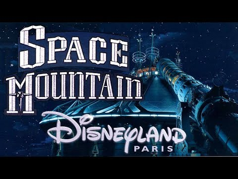 The Music Of «SpaceMountain» At Disneyland Paris (Original BGM/Complete Loop)