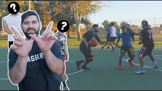 LOOK WHO I FINALLY PLAYED BASKETBALL WITH!! (STREET BALL ALL STAR GAME)