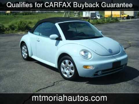 2003 Volkswagen Beetle Used Cars - Memphis,Tennessee