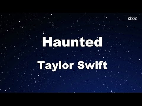 Haunted - Taylor Swift Karaoke【No Guide Melody】