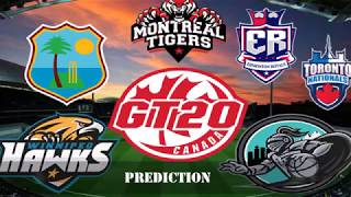 GL T20 Canada 3rd Match Edmonton Royals vs Toronto Nationals at King City 30June18  Prediction