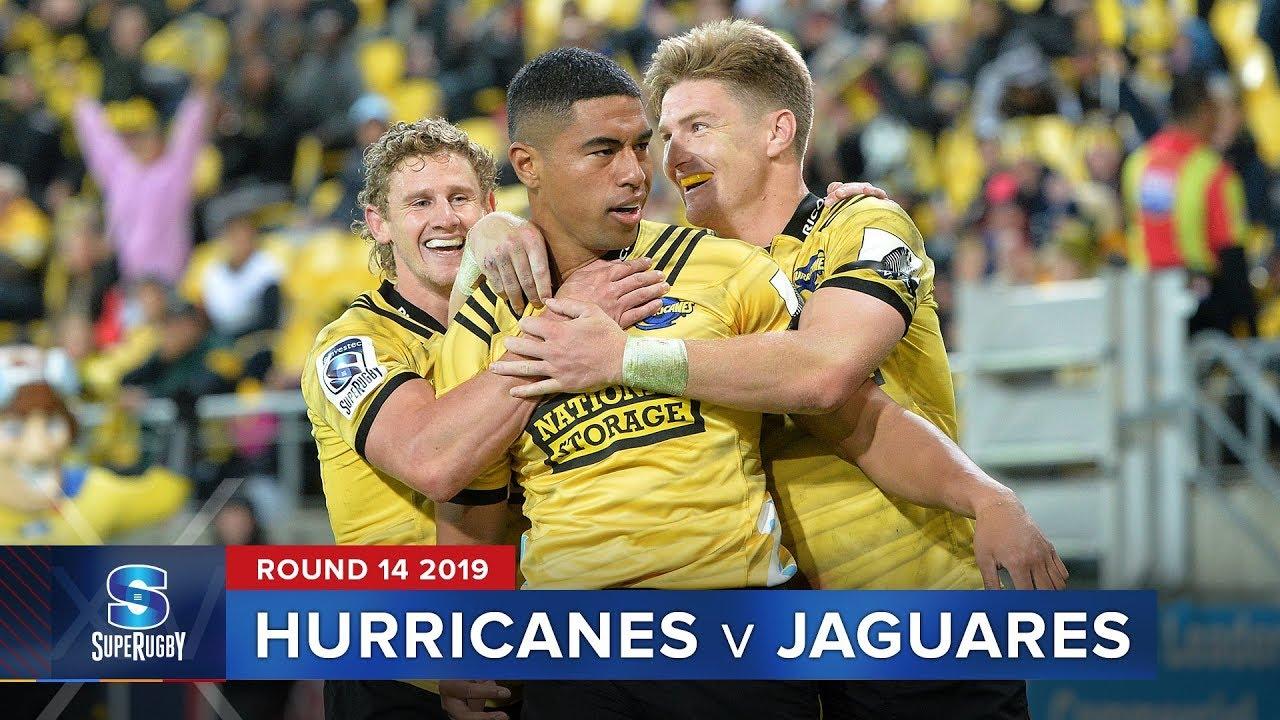 Hurricanes v Jaguares | Super Rugby 2019 Rd 14 Highlights