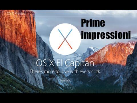 Tutorial Mac #86  - Primo impatto con OS X El Capitan!