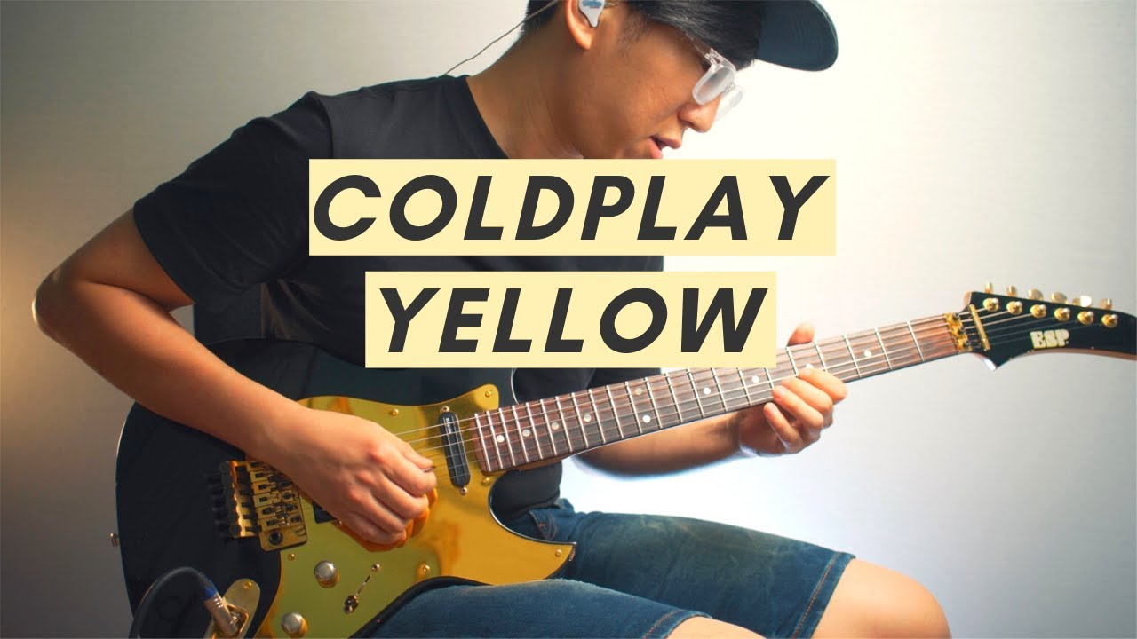 Coldplay - Yellow (Electric Guitar Cover)