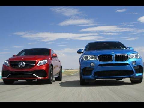 2016 Mercedes Amg Gle63 S Coupe Vs 2016 Bmw X6 M Youtube