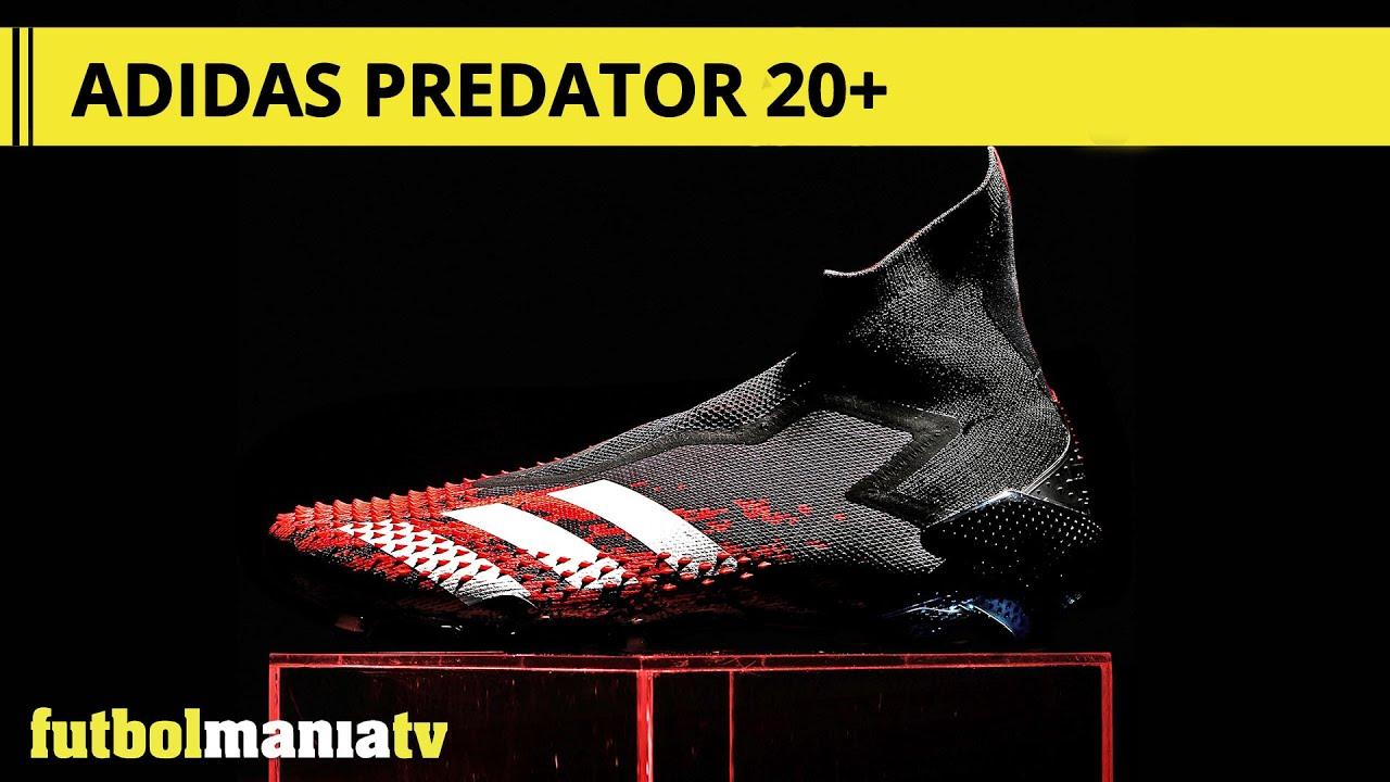 Superposición cisne por no mencionar  adidas Predator 20+ - YouTube