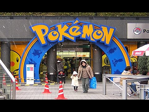 The REAL LIFE Pokemon Center In Japan