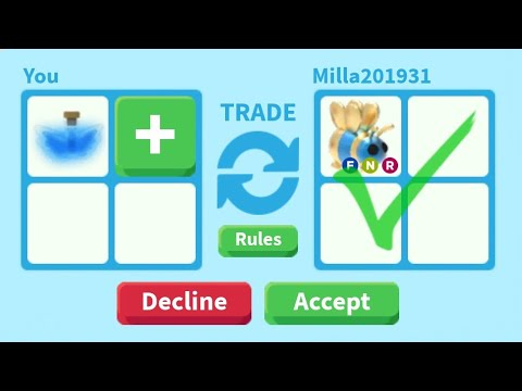 ONE COLOR TRADING CHALLENGE || roblox adopt me - YouTube