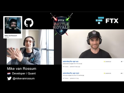 The Journey From Dev To Quant With Askmike - FTX Battle Royale ⚔️