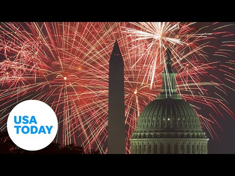 "President Trump hosts ""2020 Salute to America"" | USA TODAY"