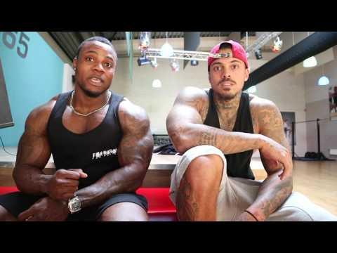 Trainen met Nederlands Kampioen bodybuilding (Justin Fox) - Fitness Vlog #1