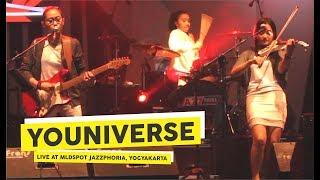 HD Youniverse Radja RIF Cover Live at MLDSPOT JAZZPHORIA