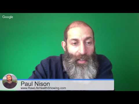 Raw Food Q&A Health Hangout with Paul Nison Thursday