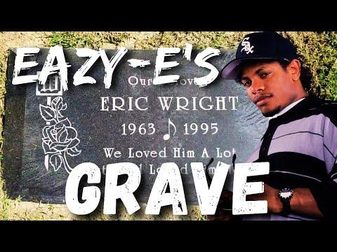 Eazy-E's Grave Site Rose Hills Cemetery Whittier , Ca