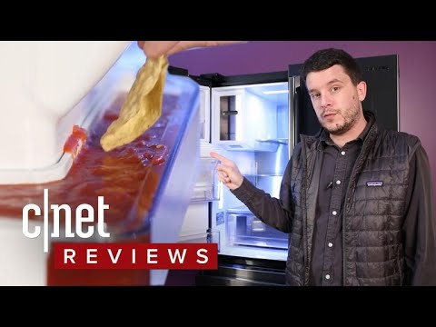 Download Youtube: Samsung RF23M8090SG refrigerator review: The salsa moat is dead