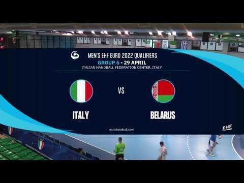 Italia - Bielorussia 31-32 | Qualificazioni EHF EURO 2022