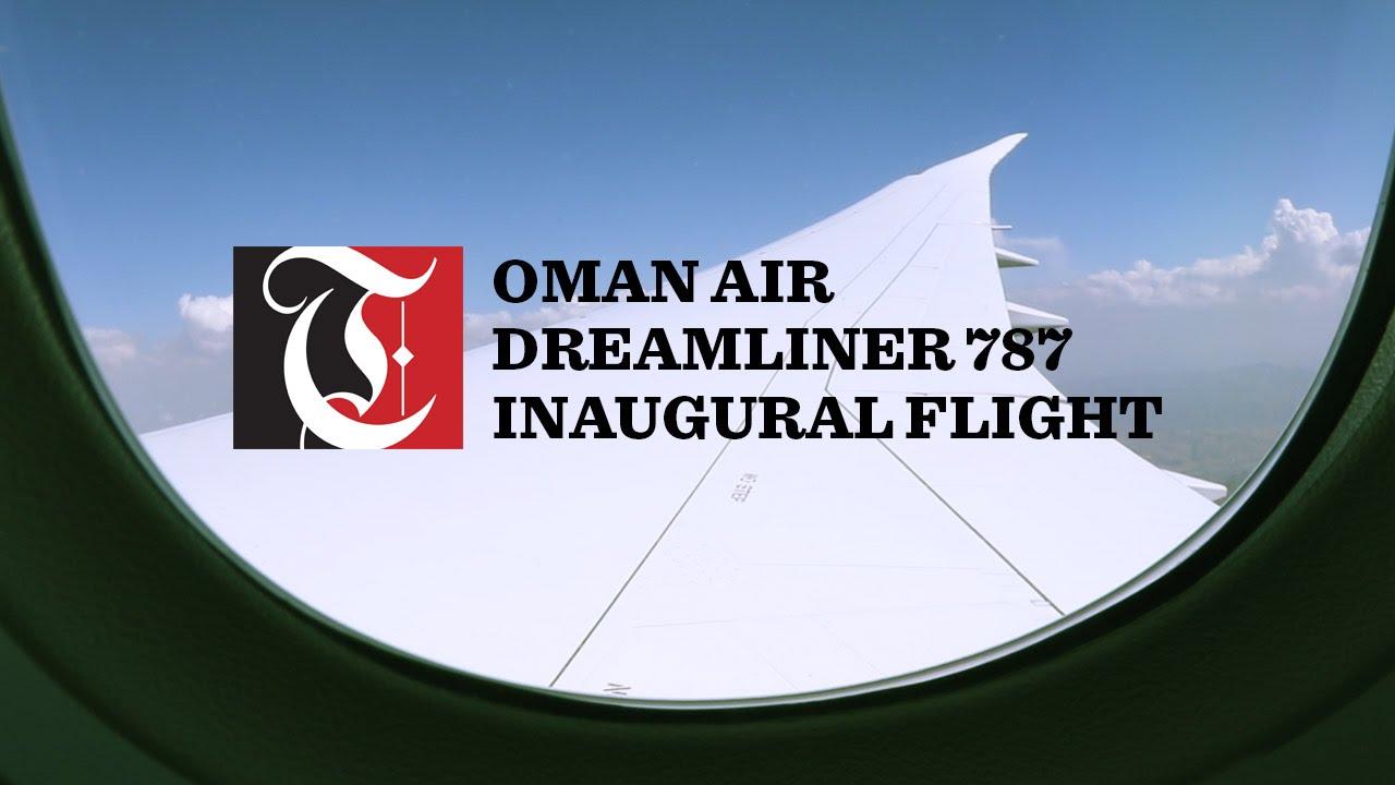 Oman Air Dreamliner 787 makes inaugural flight to Salalah