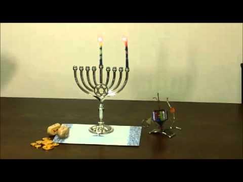 How To Light A Hanukkah Menorah