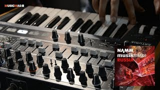 Arturia MiniBrute 2 и DrumBrute Impact  - презентация (NAMM Musikmesse Russia 2018)