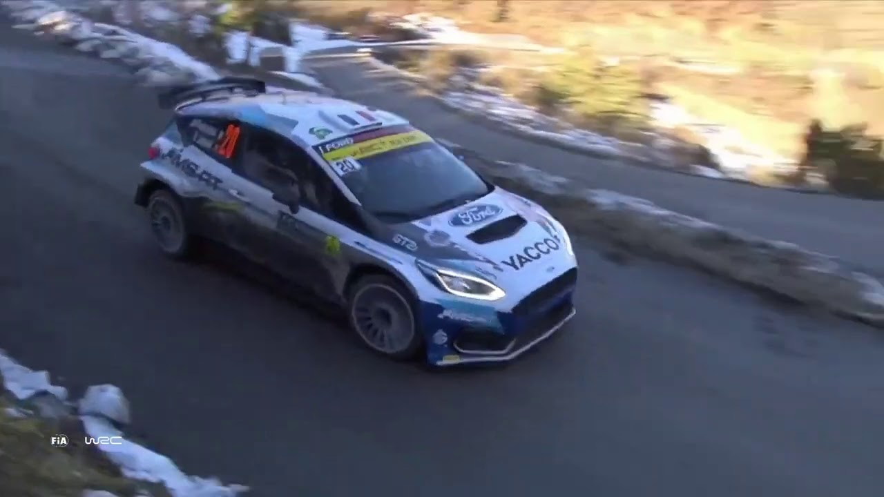 WRC - Rallye Monte-Carlo 2021 / M-Sport Ford WRT: Sunday Highlights