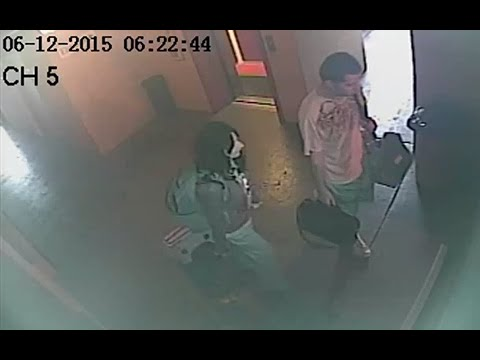 Gypsy Rose Blanchard & Nicholas Godejohn Surveillance Footage - Hotel Video Bus Station Taxi
