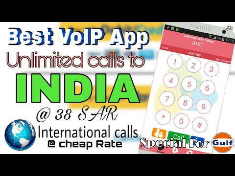 Cheap Unlimited international calls to India/Pakistan/Bangladesh from Saudi Arabia/Dubai/Kuwait VoIP