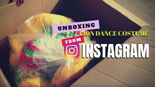 Unboxing a Lion Dance Costume from Instagram / 舞狮 / barongsai / múa lân