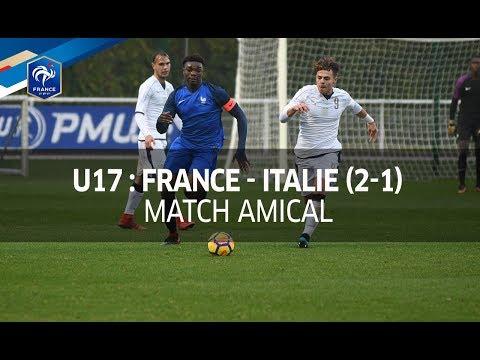 U17, amical : France - Italie (2-1), le résumé I FFF 2017