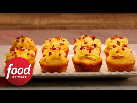 Thanksgiving in a Cupcake  Duff's Sweet Spot  Food Network